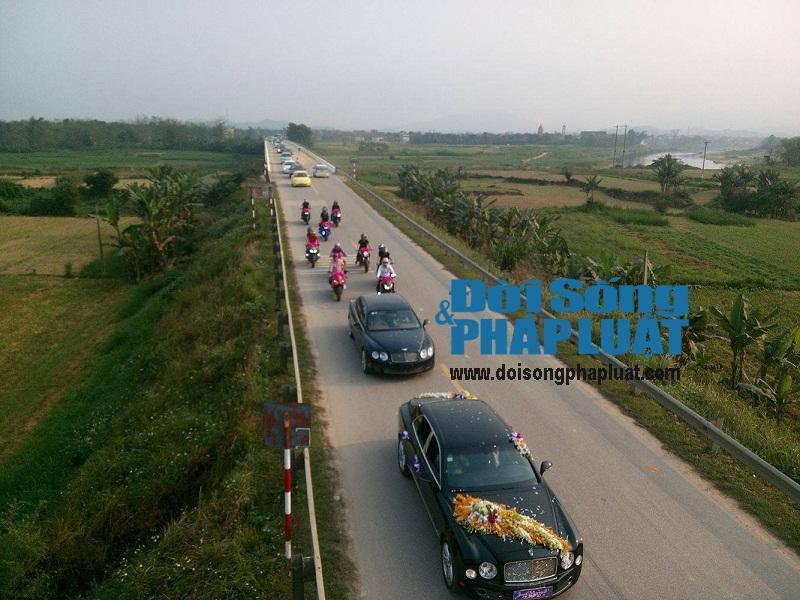 """Tiết lộ gia thế chủ nhân tiệc cưới """"khủng"""" ở Hương Sơn, Hà Tĩnh - Ảnh 2"""
