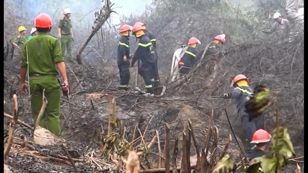 Cháy suốt 12 giờ ở rừng đặc dụng Bà Nà - Núi Chúa  - Ảnh 1