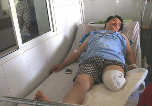 """Đà Nẵng: Bị cưa chân vì bác sỹ chẩn đoán... """"ổn định""""?!  - Ảnh 1"""