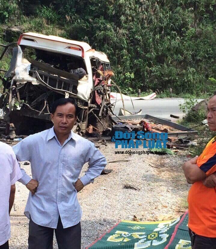 Bảo vệ nghiêm ngặt hiện trường vụ nổ xe bất thường ở Lào - Ảnh 3