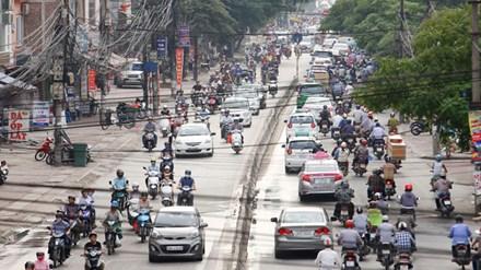 Xem xét dừng lưu thông xe máy ở Hà Nội vào năm 2025 - Ảnh 1