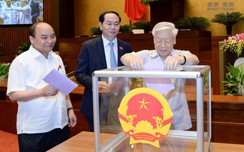 Hôm nay, Quốc hội bỏ phiếu bầu Chủ tịch nước - Ảnh 1