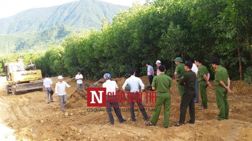 Cho Formosa chôn chất thải, Chi cục BVMT căn cứ xét nghiệm tham khảo - Ảnh 1