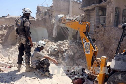 Nga nhất trí thực thi lệnh ngừng bắn nhân đạo tại Aleppo - Ảnh 1