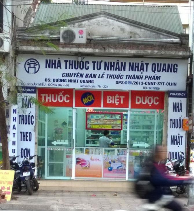 Nhà thuốc Nhật Quang thừa nhận bán thuốc xách tay - Ảnh 4