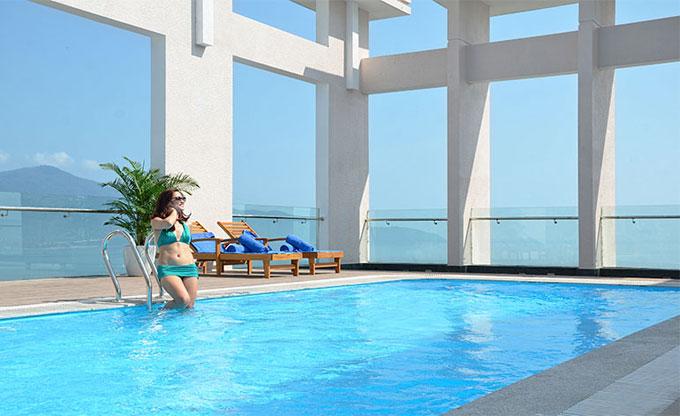 Thăm quan khách sạn 4 sao đầu tiên ở Mỹ Khê, Đà Nẵng - Ảnh 3