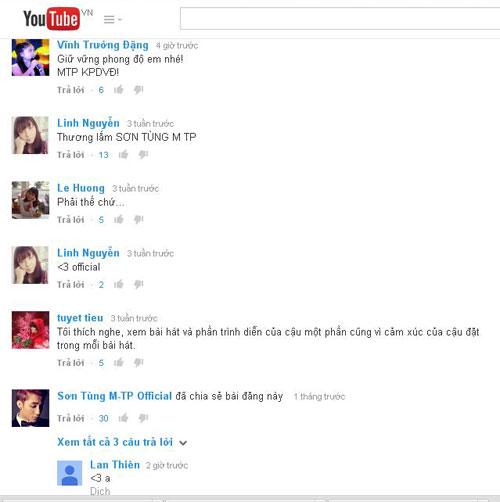 Kênh Youtube của Sơn Tùng M-TP đạt kỷ lục sau 3 tiếng public - Ảnh 1