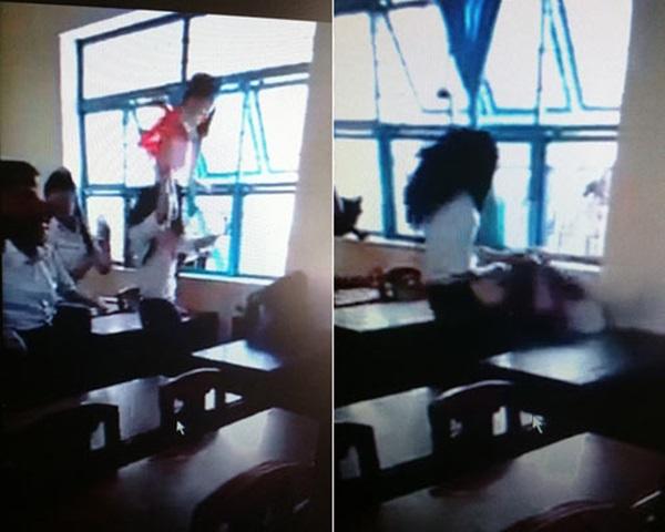 Vụ nữ sinh bị đánh hội đồng: Hiệu trưởng xin từ chức - Ảnh 1