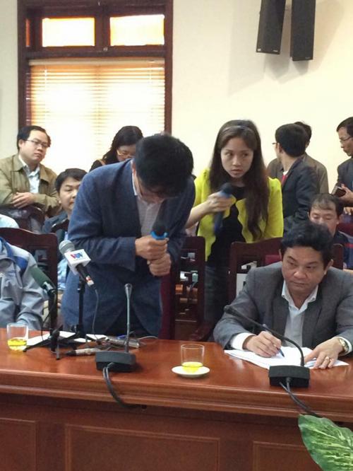 Sập giàn giáo ở Hà Tĩnh: Formosa bỏ ngỏ câu hỏi của PV - Ảnh 1