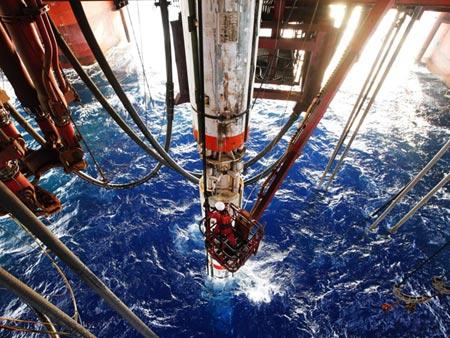 Trung Quốc thử nghiệm thành công giàn khoan nước sâu mới tại Biển Đông - Ảnh 1