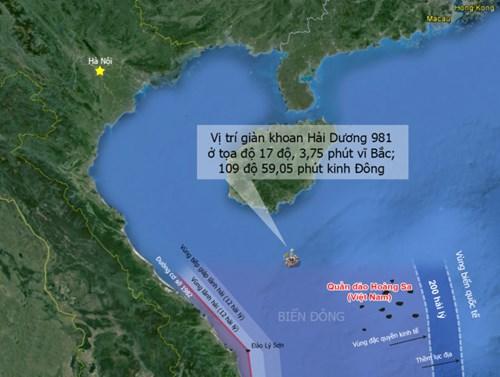 TQ kéo giàn khoan Hải Dương-981 vào vùng chồng lấn là phạm luật - Ảnh 1