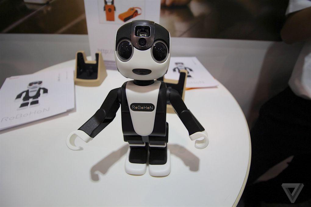 Sharp công bố Smartphone robot vô cùng độc đáo - Ảnh 2