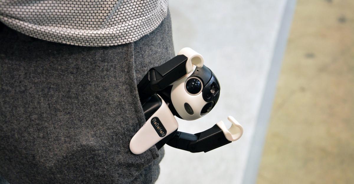 Sharp công bố Smartphone robot vô cùng độc đáo - Ảnh 3