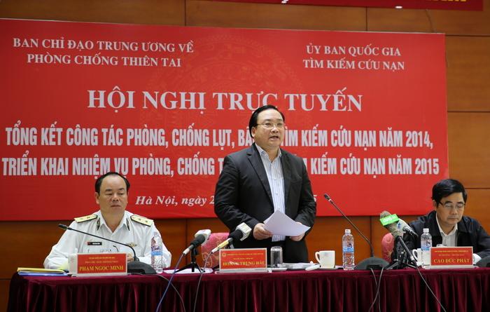 """Phó Thủ tướng Hoàng Trung Hải: """"Nhiều thành viên vắng họp, tôi đề nghị loại"""" - Ảnh 1"""