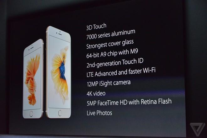 Apple chính thức giới thiệu iPhone 6S, iPad Pro - Ảnh 1