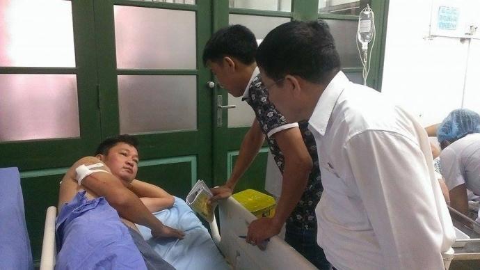 Ngày 30/6, xét xử sơ thẩm vụ chém nhà báo ở Thái Nguyên - Ảnh 1