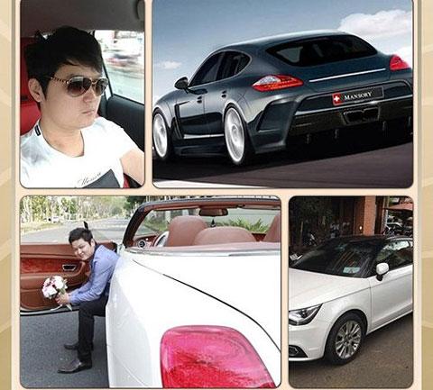 Ngắm bộ sưu tập siêu xe khủng của những chàng rể đại gia showbiz Việt - Ảnh 4