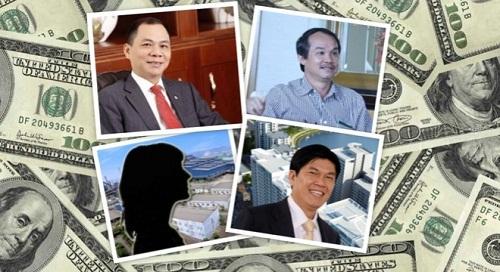 """4 đại gia Việt siêu giàu """"bốc hơi"""" trăm tỷ chỉ trong 1 ngày - Ảnh 1"""
