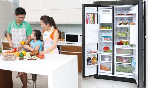 Mẹo sử dụng tủ lạnh để tiết kiệm điện, kéo dài tuổi thọ tủ lạnh - Ảnh 1
