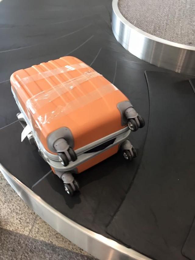 Cách hay phòng chống hiện tượng bị móc trộm hành lý ở sân bay - Ảnh 2