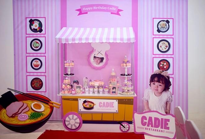 Con gái Elly Trần xinh như thiên thần trong tiệc sinh nhật 1 tuổi - Ảnh 1
