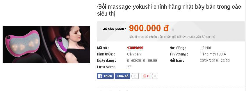 Máy massage hiệu Yokushi: Hàng Nhật hay Trung Quốc? - Ảnh 4