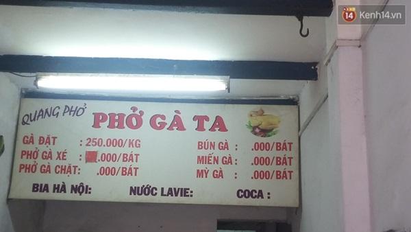 """Quán bình dân tại Hà Nội bị tố """"chém đẹp"""" 300.000 đồng/bát phở gà ta - Ảnh 3"""