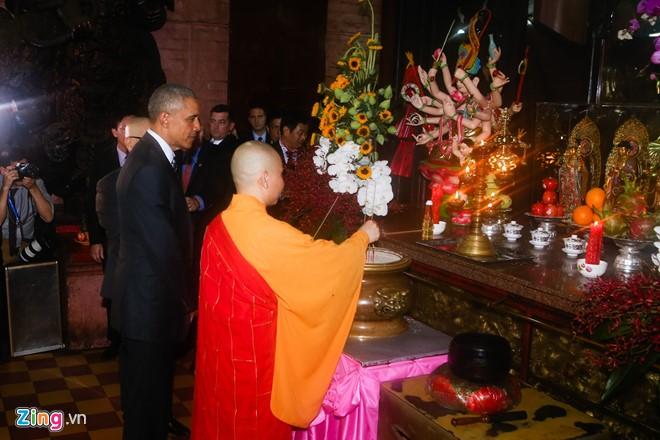 Tổng thống Obama từ chối đề nghị cầu con trai tại chùa Ngọc Hoàng - Ảnh 1