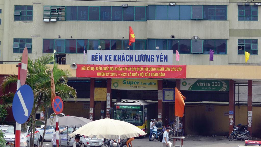 Xóa bến xe Lương Yên, chuyển sang Nước Ngầm? - Ảnh 1