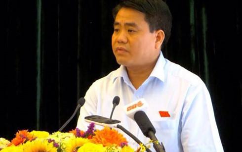 Hà Nội: Chi 53 tỷ đồng mỗi năm để cắt cỏ cho 24 km Đại lộ Thăng Long - Ảnh 1