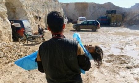 Nga bất ngờ công bố thông tin về vụ tấn công vũ khí hóa học ở Syria - Ảnh 2