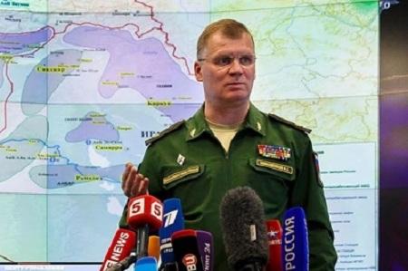 Nga bất ngờ công bố thông tin về vụ tấn công vũ khí hóa học ở Syria - Ảnh 1