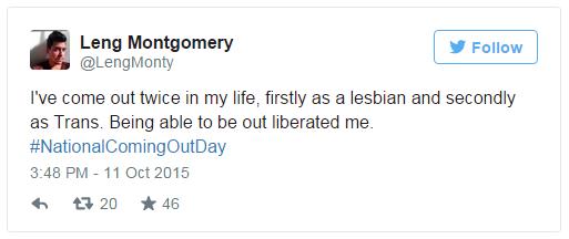 """Mạng xã hội rực sắc màu trong """"ngày come out"""" của cộng đồng LGBT thế giới - Ảnh 8"""
