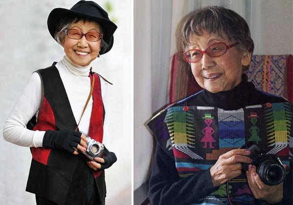Bí quyết trẻ lâu bất ngờ của nữ nhiếp ảnh gia Nhật Bản 101 tuổi - Ảnh 1