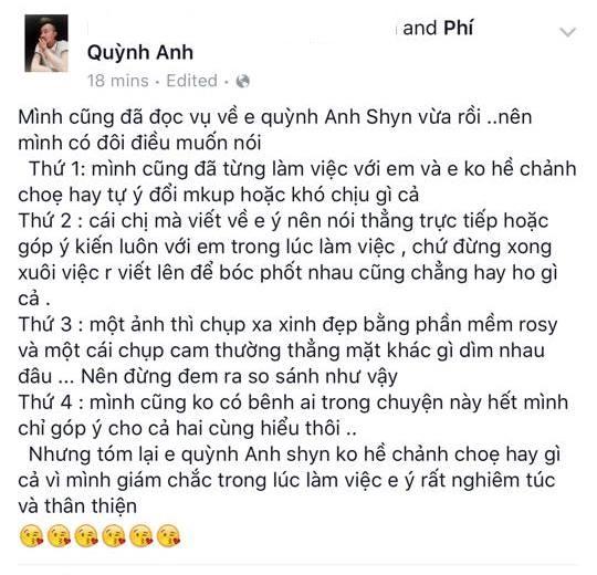 """Bạn bè thân lên tiếng bênh vực Quỳnh Anh Shyn sau khi cô bị tố """"chảnh choẹ"""" - Ảnh 3"""
