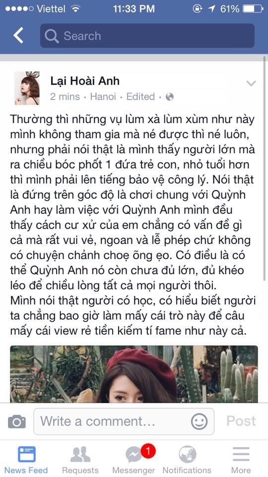 """Bạn bè thân lên tiếng bênh vực Quỳnh Anh Shyn sau khi cô bị tố """"chảnh choẹ"""" - Ảnh 5"""