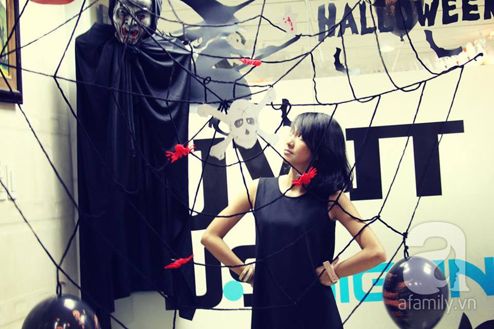 """Dân công sở thích thú khi văn phòng """"biến hình"""" chào đón Halloween - Ảnh 14"""