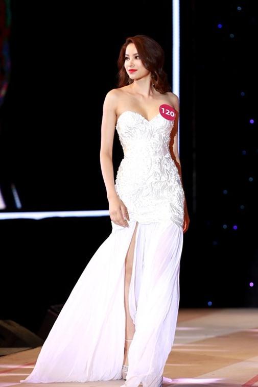 Ngắm vẻ đẹp rạng ngời của tân Hoa hậu Hoàn vũ Việt Nam 2015 - Ảnh 8