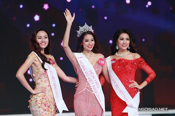 Ngắm vẻ đẹp rạng ngời của tân Hoa hậu Hoàn vũ Việt Nam 2015 - Ảnh 10