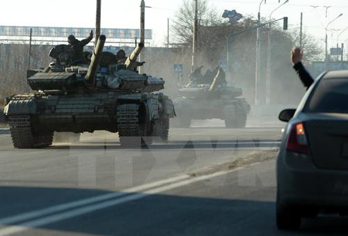 Phe ly khai Ukraine cảnh báo khả năng từ bỏ lệnh ngừng bắn - Ảnh 1