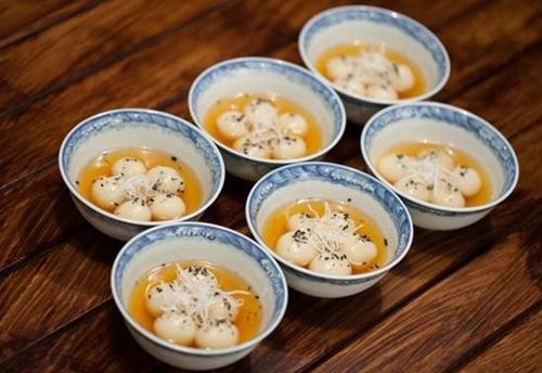 Cách làm bánh trôi nhân đậu xanh ngọt bùi vị tết Hàn thực - Ảnh 3