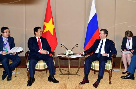 Thủ tướng Nguyễn Tấn Dũng: Nga đóng vai trò lớn thúc đẩy ký kết Hiệp định - Ảnh 1