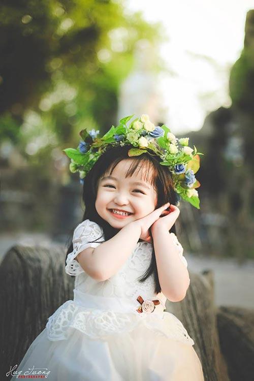 Lộ ảnh những em bé Việt xinh như thiên thần - Ảnh 4