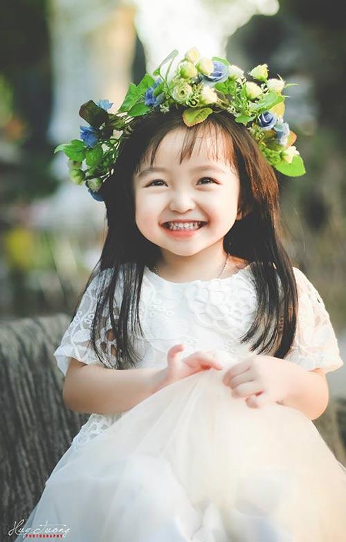 Lộ ảnh những em bé Việt xinh như thiên thần - Ảnh 5