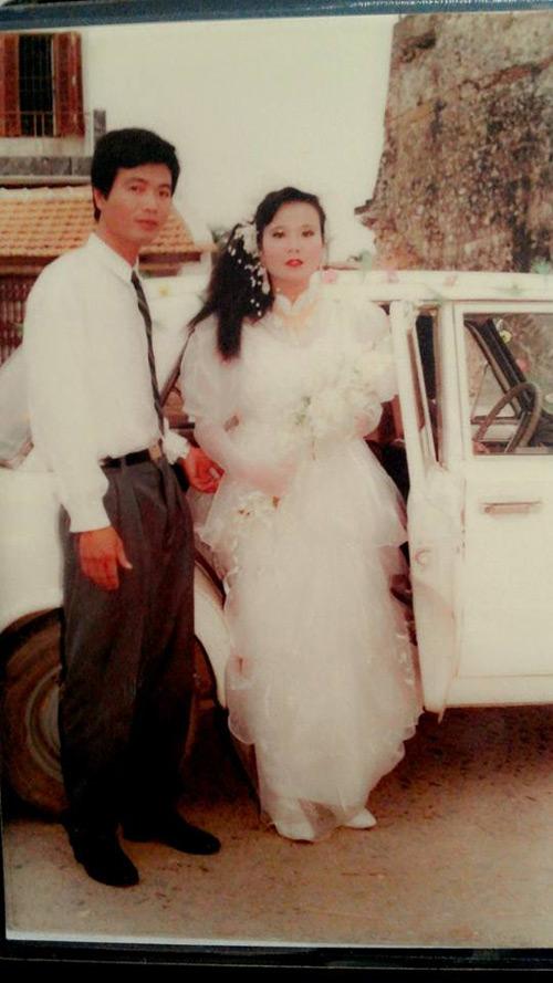Dân mạng đua nhau khoe ảnh cưới của bố mẹ - Ảnh 2
