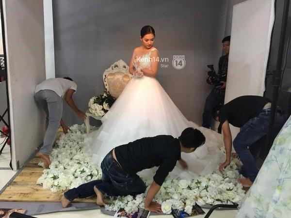 Vợ Duy Nhân bất ngờ xuất hiện rạng rỡ trong vai trò người mẫu ảnh cưới - Ảnh 2