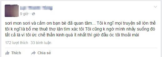 Xôn xao chàng trai Tuyên Quang 2 lần nhảy sông vì mâu thuẫn với bạn gái - Ảnh 3