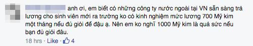 """Dân mạng phản ứng gay gắt """"muốn bạt tai sinh viên RMIT vì mong lương nghìn đô"""" - Ảnh 6"""