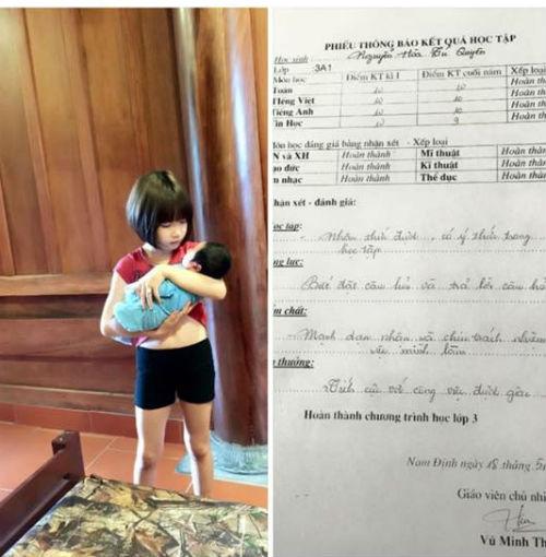 Sự thật về clip bé gái 9 tuổi tắm cho em trai hơn 2 tháng tuổi - Ảnh 4