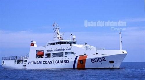 Khám phá tàu 8002 của Cảnh sát biển Việt Nam - Ảnh 1